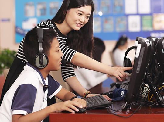 烟台大悦城购物韦博公共英语培训