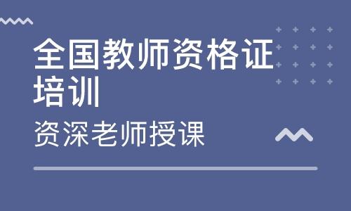渭南教师资格证培训