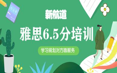 广州天河大学城新航道雅思6.5分班英语培训