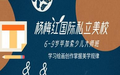上海中庚漫游城杨梅红6-9岁毕加索少儿班