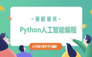 东莞南城童程童美Python人工智能少儿编程