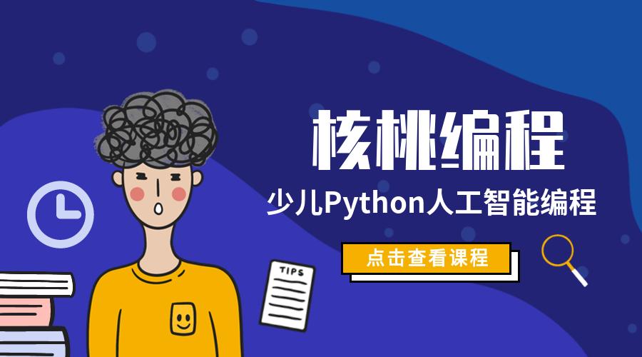 贵阳核桃编程Python人工智能少儿培训