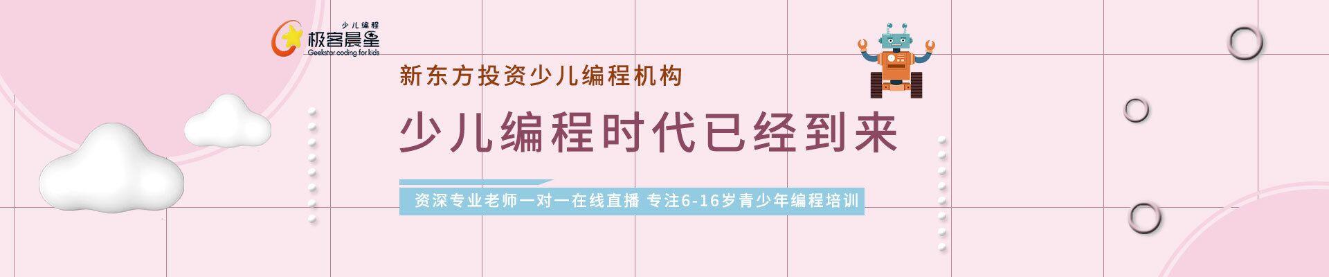 沧州黄骅市枫景华城极客晨星少儿编程培训