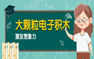 成都大颗粒电子积木精品课程