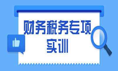 岳阳岳阳楼区财务税务专项实训课